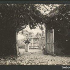 Postales: POLLENSA-PATIO DE CAN BOSCH-COL· BESTARD-FOTOGRAFICA-POSTAL ANTIGUA-(56.611). Lote 149504774