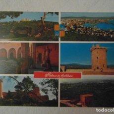 Postales: PALMA DE MALLORCA Nº 5062 HOTELES MALLORQUINES. CIRCULADA. Lote 149744698