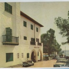 Postales: MALLORCA CAMP DE MAR HOTEL PLAYA 1958 ARCHIVO ARTISTICO Nº1502 BISCUTER 4CV. Lote 150240662