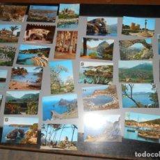 Postales: LOTE DE 31 POSTALES DE MALLORCA. Lote 150256490