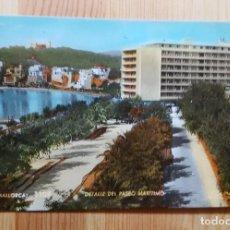 Postales: PALMA DE MALLORCA Nº 1108 DETALLE DEL PASEO MARITIMO ED. ZERKOWITZ. Lote 151039822