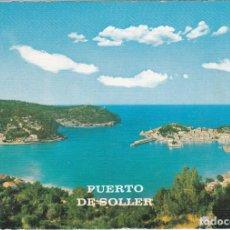 Postales: PUERTO DE SOLLER, MALLORCA. Lote 151160146