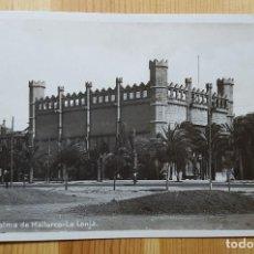 Postales: PALMA DE MALLORCA Nº 52 LA LONJA AM UNION POSTAL UNIVERSAL. Lote 151226550