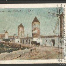 Postales: MOLINAR-MALLORCA-MOLINOS DE VIENTO-REVERSO SIN DIVIDIR-POSTAL ANTIGUA-(57.087). Lote 151297110