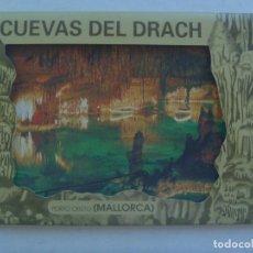 Postales: ACORDEON DE 10 POSTALES DE LAS CUEVAS DEL DRACH , PORTO CRISTO ( MALLORCA ). Lote 151342526