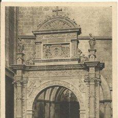 Postales: MALLORCA. CATEDRAL. PORTAL DEL CORO ANTIGUO. SERIE III. 9. SIN CIRCULAR. 14X9 CM. . Lote 151428722