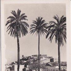 Postales: IBIZA (ISLAS BALEARES) - VISTA PARCIAL DESDE LAS PALMERAS. Lote 151541882