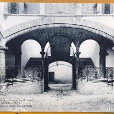 Postales: PALMA MALLORCA JOSÉ TOUS CASA SOLLERIC. HAUSER Y MENET. Lote 151617730