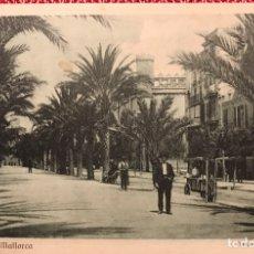 Postales: POSTAL PASEO SAGRERA Y LONJA PALMA MALLORCA. Lote 151629701