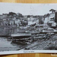 Postales: PUERTO DE SOLLER MALLORCA FOTO TRUYOL 1951. Lote 151661170