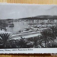 Postales: PALMA DE MALLORCA Nº 5804 PUERTO HACIA BELLVER ED. ZERKOWITZ. Lote 152248010