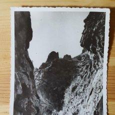 Postales: SOLLER MALLORCA EL TORRENTE DE PAREYS FOTO BALEAR 1951 SELLO FRANCO 45CTS. Lote 152249390