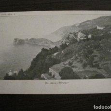 Postales: MALLORCA-MIRAMAR-COL·GRAND HOTEL SERIE 1 Nº1-THOMAS-REVERSO SIN DIVIDIR-(57.275). Lote 152951482
