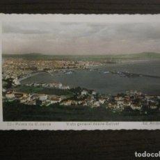 Postales: PALMA DE MALLORCA-VISTA GENERAL DESDE BELLVER-33-ED·ARRIBAS-POSTAL ANTIGUA-(57.276). Lote 152951726