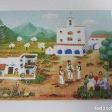 Postales: IBIZA (SAN JOSÉ) ILUSTRACIÓN INGEBORG GAUGER (1973) SIN CIRCULAR. Lote 153785550