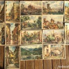Postales: 15 POSTALES FRESQUET PALMA Y SÓLLER, MALLORCA, 1958. Lote 154407638