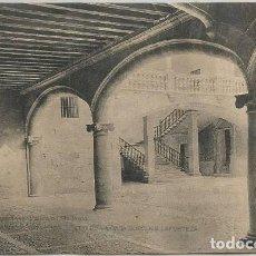 Postales: POSTAL ANTIGUA PALMA PATIO DE LA CASA BURGUES LAFORTEZA CASA SEÑORIAL MALLORCA ED. TOUS. Lote 155372790