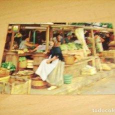 Postales: IBIZA- BALEARES- DETALLE DEL MERCADO. Lote 155376630