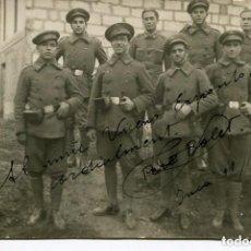 Postales: INCA -SOLDADOS DE LA REPÚBLICA -REGIMIENTO DE INFANTERIA Nº 60- AÑO 1933-FOTOGRÁFICA.. Lote 155479814