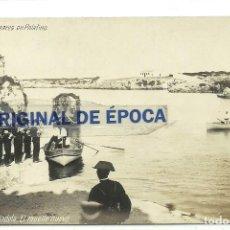 Postales: (PS-59996)POSTAL FOTOGRAFICA DE MENORCA-CIUDADELA.EL MUELLE NUEVO. Lote 156629874