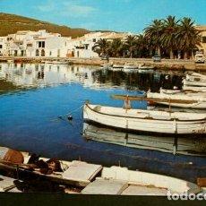 Postales: FORNELLS (MENORCA) DETALLE DEL PUERTO - ED. LUCIA MORA - AÑOS 60 - BALEARES. Lote 156806234