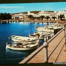 Postales: FORNELLS (MENORCA) 4084 PUERTO - ED. PERLA - AÑOS 60 - BALEARES. Lote 156806790