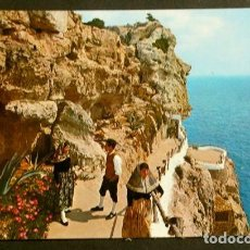 Postales: ALAYOR (MENORCA) CALA'N PORTER - COVA D'EN XOROI - ED. LUCIA MORA - AÑOS 60 - BALEARES. Lote 156812590