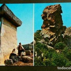 Postales: MENORCA (MENORCA) TAULA DE TREPUCO - PEÑA DEL INDIO - ED. LUCIA MORA - AÑOS 60 - BALEARES. Lote 156814010