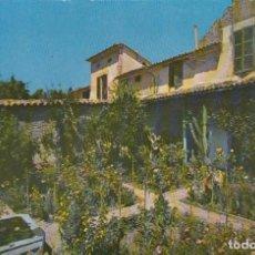 Postales: MALLORCA VALLDEMOSA JARDÍN DE LA CELDA DE CHOPIN Y GEORGE SAND.ED. CASA PLANAS. Lote 156878346