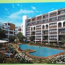 Postales: SAN ANTONIO (IBIZA). HOTEL RACO DES SOL. PUBLINTEL. USADA CON SELLO. COLOR. Lote 156930118