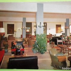 Postales: PORT DES TURRENTS - SAN JOSÉ (IBIZA). HOTEL IBIZA PUEBLO. SALÓN. ARIES. NUEVA. COLOR. Lote 156930122