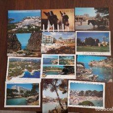 Postales: LOTE DE 12 POSTALES DE VISTAS DE MALLORCA AÑOS 80-90. Lote 157296406