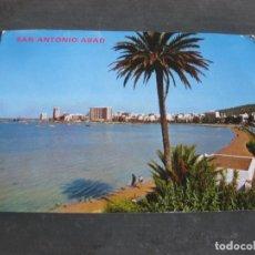 Postales: POSTAL 1676 - SAN ANTONIO ABAD (IBIZA) VISTA GENERAL. EXCLUSIVAS CASA FIGUERETAS. CURSADA.. Lote 159485906