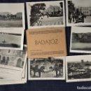 Postales: PEQUEÑO BLOCK POSTAL COMPLETO CON 20 FOTOGRAFIAS EN ALTA CALIDAD DE BADAJOZ. ED. MANUEL DURAN. Lote 159553834