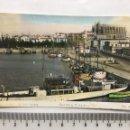 Postales: POSTAL. PALMA DE MALLORCA. PUERTO Y CATEDRAL. ED. ARRIBAS. H. 1940?.. Lote 160340113