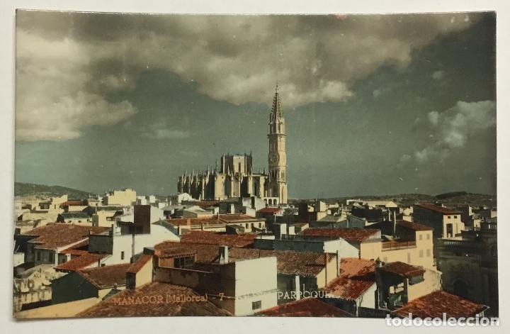 MANACOR (MALLORCA). 7. IGLESIA PARROQUIAL. (ED. J. VENY) (Postales - España - Baleares Antigua (hasta 1939))