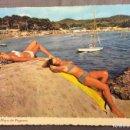 Postales: POSTAL MALLORCA, PLAYA DE PAGUERA. M- 24. EDICIONS BOHIGAS. AÑOS 60. ESCRITA. Lote 160452350