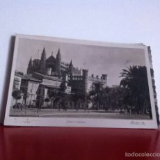 Postales: LONJA Y CATEDRAL ( PALMA) POSTAL USADA 1946. Lote 160493282