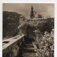 Postales: MALLORCA. VALLDEMOSA. JARDÍN DE LA CELDA CHOPIN Y GEORGE SAND.. Lote 162443622