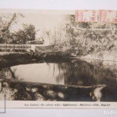 Postales: POSTAL FOTOGRÁFICA - SON GALLART, ES SEFREIX REDÓ. VALLDEMOSA, MALLORCA - ED. RULLÁN - CIRCULADA. Lote 162686262