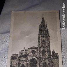 Postales: OVIEDO LA CATEDRAL CIRCULADA. Lote 163158134