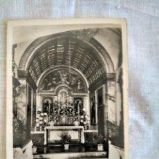 Postales: ANTIGUA POSTAL. ERMITA VALLDEMOSA INTERIOR DE LA CAPILLA . EDITORIAL FOTOGRAFICA. Lote 163406462