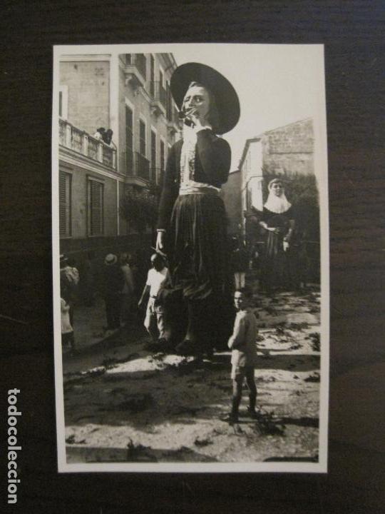 MALLORCA-GIGANTES DE PALMA-FOTOGRAFICA-POSTAL ANTIGUA-VER FOTOS-(59.277) (Postales - España - Baleares Antigua (hasta 1939))