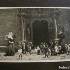 Postales: MALLORCA-GIGANTES DE PALMA-FOTOGRAFICA-POSTAL ANTIGUA-VER FOTOS-(59.278). Lote 163779026