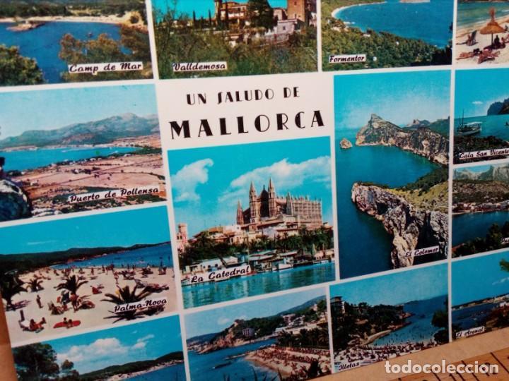 Postales: LOTE 8 POSTALES DE MALLORCA (SIN CIRCULAR) - (AÑOS 70) - REF: 250/260 - Foto 12 - 164004670