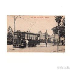 Postales: SOLLER.(MALLORCA).- TRANVIA ELÉCTRICO.. Lote 164712078