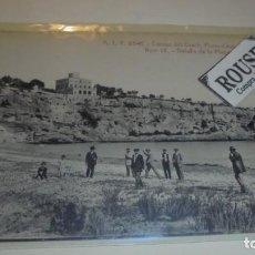 Postales: MALLORCA - A.T.V. 2541 - CUEVAS DEL DRACH , PORTO-CRISTO (MANACOR) Nº 18 DETALLE DE LA PLAYA - 14X9 . Lote 164720230