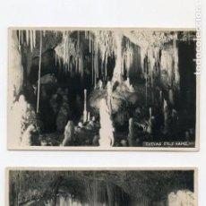 Postales: TRES POSTALES DE MALLORCA (CUEVA DELS HAMS). Lote 164741194