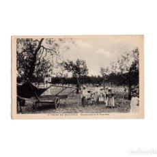 Postales: PALMA DE MALLORCA.- RECOLECCIÓN DE LA ALMENDRA.. Lote 164906478