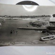 Postales: MAGNIFICA ANTIGUA POSTAL DE MALLORCA PORTO COLOM,ARENAL. Lote 165269542